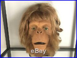 Orangutan Makeup Model Used In The Making Of The 1968 Movie Planet Of The Apes