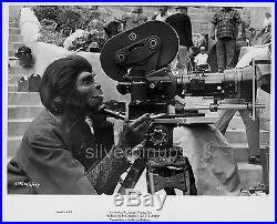 Orig 1970 KIM HUNTER in Make-up. Candid on-set BENEATH THE PLANET OF THE APES