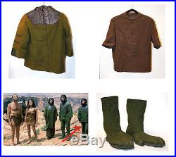 Original 1968'planet Of The Apes' Screen Worn Costume By Ape Lucius -lou Wagner