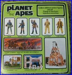 Original Mego Planet Of The Apes General Ursus In Acrylic Case Nib