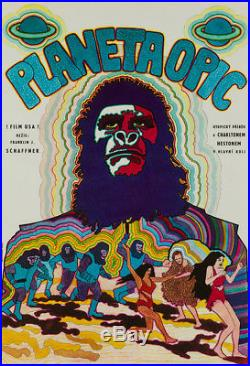 Original Planet of the Apes Czech, Film/Movie Poster