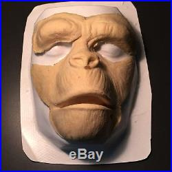 PLANET OF THE APES (1968) RARE ORIG. Roddy McDowall PRODUCTION LATEX MASK + COA