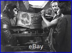 PLANET OF THE APES (1968) Set of 7 vintage original 7x9 b&w French stills FINE