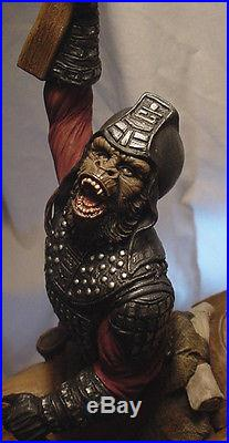 PLANET OF THE APES APE CONQUEROR GEN URSUS NAGLE Sculpt PROFESSIONAL PAINT