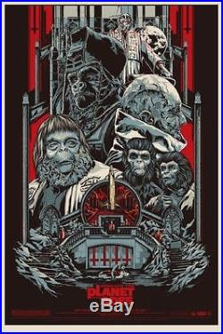 PLANET OF THE APES BENEATH THE MONDO R2012 Limited edition print #395 KEN TAYLOR