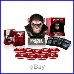 PLANET OF THE APES Blu-ray Collection Warrior with Caesar head EMS withTracking