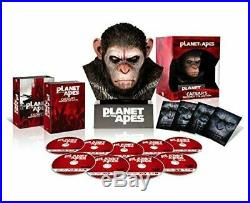 PLANET OF THE APES Blu-ray Collection Warrior with Caesar head withTracking