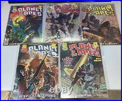 PLANET OF THE APES COMICS MAGAZINES 1974-1976 MARVEL/CURTIS Full Run 1-29