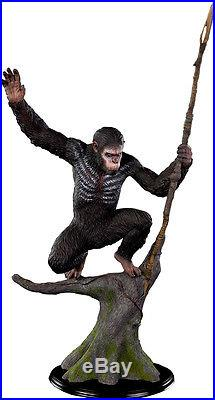 PLANET OF THE APES Caesar 14 Scale Statue (Pop Culture Shock) #NEW