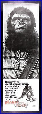 PLANET OF THE APES CineMasterpieces ORIGINAL RARE DOOR PANEL MOVIE POSTER 1968