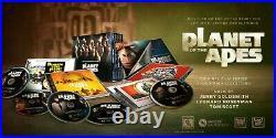 PLANET OF THE APES Film Series 5CD Box Set LA-LA LAND Soundtrack JERRY GOLDSMITH