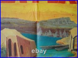 PLANET OF THE APES French Grande movie poster 47x63 CHARLTON HESTON MASCII 1968