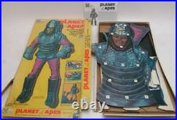 PLANET OF THE APES GENERAL URKO1967- 3 Dimensional Wall Plaque with Box- Vintage