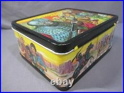PLANET OF THE APES LUNCHBOX + THERMOS Metal 1974 Vintage Aladdin