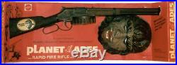 PLANET OF THE APES MASK FROM MATTEL RAPID FIRE RIFLE & APE MASK SET -1970's-RARE
