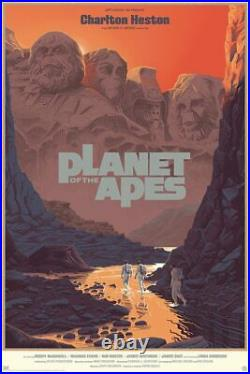 PLANET OF THE APES MONDO Laurent DURIEUX limited edition print #375 R2018 24x36