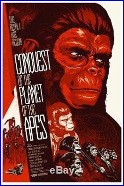 PLANET OF THE APES MONDO R2012 complete set of 6 Limited edition prints 24x36
