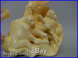 Planet Of The Apes Movie Scene Collectible Artwork Meerschaum Pipe By Kenan