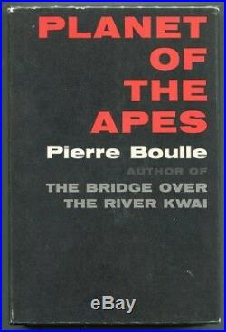 PLANET OF THE APES Pierre Boulle 1st Printing HC/DJ VNF/NF