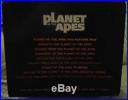 Planet Of The Apes Rare Limited Edition Collectors Head And DVD Collection