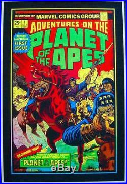 PLANET OF THE APES Signed Limited edition print GID inks MATT DYE BLUNT GRAFFIX