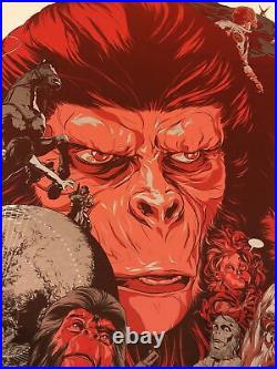 PLANET OF THE APES VARIANT MONDO poster print (X/150) MARTIN ANSIN 2012