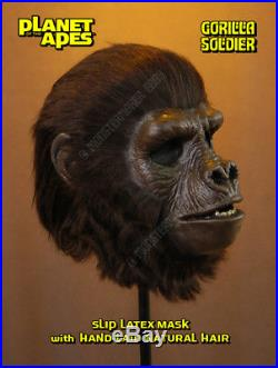 PLANET of the APES GORILLA SOLDIER MASK