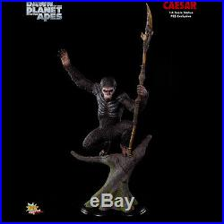 POP CULTURE Dawn Of The Planet Of The Apes Caesar 14 Scale Statue Exclusive NEW