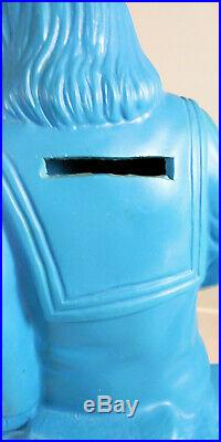 PROTOTYPE OR TEST Dr Zaius Planet of the Apes Plastic Bank Playpals 1967 Vintage