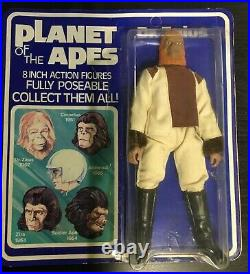 Palitoy Bradgate Planet of the Apes Dr. Zaius Figure BLUE CARD UK release Mego