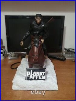 Pianeta delle scimmie bluray busto enorme collector Planet of the apes bust