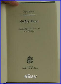 Pierre Boulle / Monkey Planet Planet of the Apes First Edition 1964 #1407001