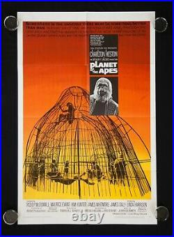 Planet Of The Apes 1968 Original Movie Poster One Sheet