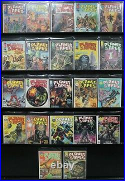Planet Of The Apes #1-#22 Lot Most Vf High Grade