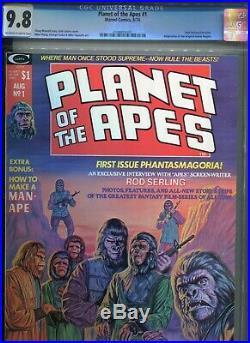 Planet Of The Apes 1 Cgc 9.8 Adapts Original Movie 1974
