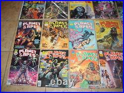 Planet Of The Apes 1- Movie Comic Magazine Marvel Curtis 1974 High Grade Lot