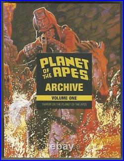 Planet Of The Apes Archive Volume 1 Hardcover Marvel Mag Reprints OOP RARE BOOM