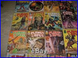 Planet Of The Apes Comic Magazine Rare Complete Lot 1-29 1974 Movie Curtis Run
