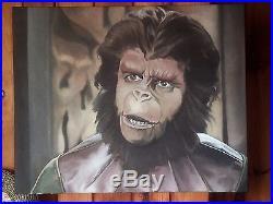 Planet Of The Apes- Cornelius Original Oil Painting