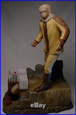 Planet Of The Apes Dr. Zaius Model Professional Build & Paint Pota