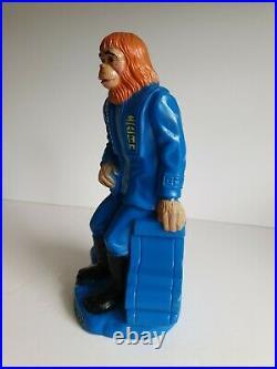Planet Of The Apes Dr. Zaius and GALEM Money Box 1967 RARE play pal plastics