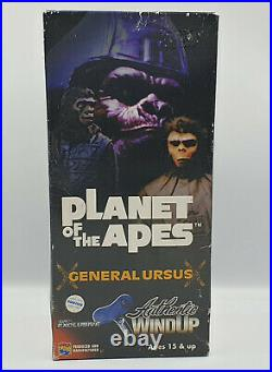 Planet Of The Apes General Ursus Tin Wind Up Figure Made By Medi Com Toys
