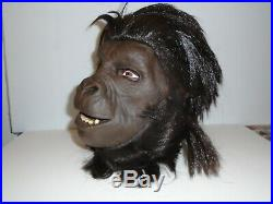 Planet Of The Apes Gorilla Background Bust