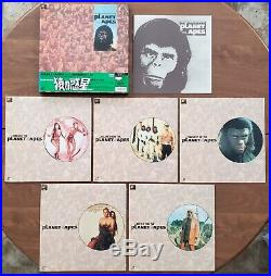 Planet Of The Apes Japanese Imported Laserdisc Box Set Complete Collection UNCUT