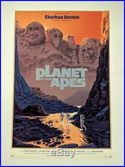 Planet Of The Apes Laurent Durieux Poster Print Mondo Gallery Regular POTA