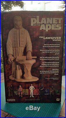 Planet Of The Apes Lawgiver Statue 18 Sideshow Limited Edition 708/750