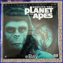 Planet Of The Apes Lot COMPLETE 5 Film Series Laserdisc -VERY RARE LATE RELEASES