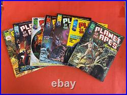 Planet Of The Apes Magazine 1974 1-29 Complete Set Beautiful See Pics & Descrip