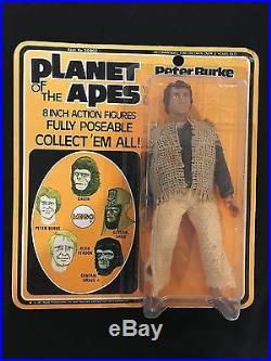 Planet Of The Apes Mego Peter Burke Sealed Unopened 1975 Vintage Rare Figure