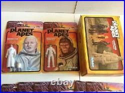 Planet Of The Apes Reaction Super7 Funko 3.75 Action Figure Complete Wave 1 & 2